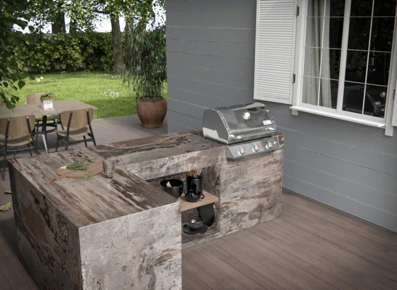 Outdoor Kitchens Cameo Countertops